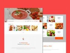 Free Restaurant Bootstrap Template - Free Download | Freebiesjedi