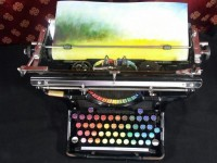 The Chromatic Typewriter | Colossal