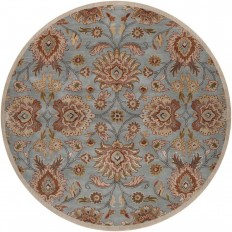 Artistic Weavers Cambrai Moss 6 ft. x 6 ft. Round Indoor Area Rug - S00151006569 - The Home Depot