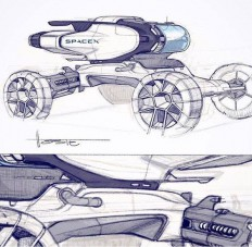 Jony Diaz - 1960's/2000's official sketches & previews
