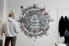 Antiestatico wall Mural on Inspirationde