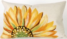 Trans-Ocean - Trans-Ocean Visions Iii Pillow Sunflower Yellow #153715