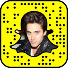 What is Jared Leto's Snapchat?