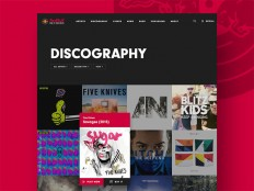 50 Creative Music Website UI Designs for Inspiration - Smashfreakz
