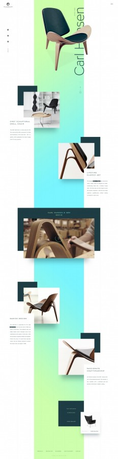 Carl Hansen & Søn – Product page exploration on Inspirationde