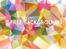 7 Free Low Poly Backgrounds - Free Download | Freebiesjedi