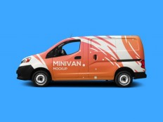 Free Minivan Mockup PSD - Free Download | Freebiesjedi