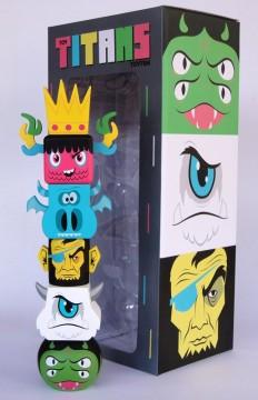 Superham — Toy Titans Toytem **Toy and box SIGNED**