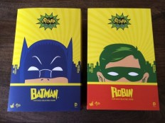 Cool Stuff: Hot Toys Batman and Robin 1960s TV Sixth Scale Figures