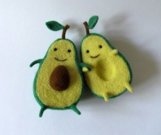 #avocado #love #toy #sculpture #hug #cute in Toys