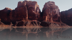 Desert Reflection by Crafor on DeviantArt