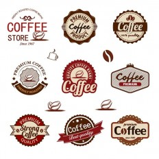 9 Free Coffee Badges - Free Download | Freebiesjedi