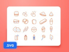 Outline Food icon - Free Download | Freebiesjedi