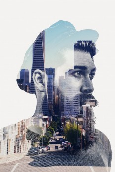 Double Exposure Action on Inspirationde