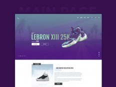 ThrowSneaks - Free Simple Ecommerce PSD Template - Free Download | Freebiesjedi