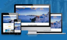 GreeceTour : Free Travel PSD Template - Free Download | Freebiesjedi