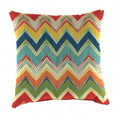 Shop Jordan Manufacturing Culloden Fiesta Stripe Square Throw Outdoor Decorative Pillow at Lowes.com
