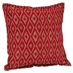 Shop Garden Treasures 2-Pack 2-Pack Astoria Lagoon Stripe and Striped Square Throw Pillow Outdoor Decorative Pillow at Lowes.com