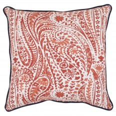 "18"" Throw Pillow - Red Paisley - Threshold? : Target"