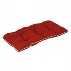 Solid Red Outdoor Settee Cushion | Kirklands