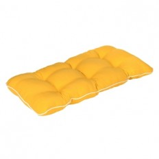 Solid Yellow Outdoor Settee Cushion | Kirklands