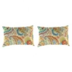 Gilford Festival Outdoor Accent Pillows, Set of 2 | Kirklands