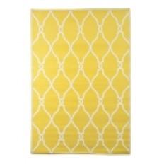 Yellow Lattice Outdoor Rug, 4x6   Kirklands