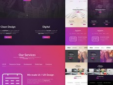 20 Free Sketch Landing Page Template You Must Download -
