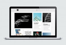 Abstract : Mansory Blog Website Template - Free Download | Freebiesjedi