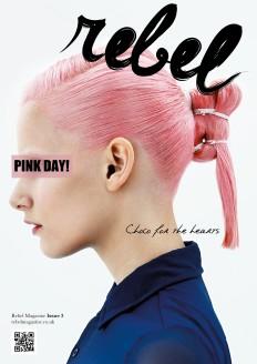 REBEL Typeface + Magazine Masthead on