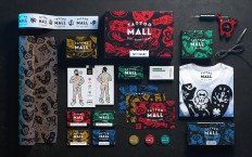 Tattoo Mall's Packaging is Designed To Be Friendly — The Dieline | Packaging & Branding Design & Innovation News