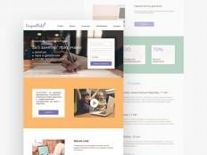 School Education PSD Web Template - Free Download | Freebiesjedi