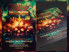Free Halloween Flyer Template PSD - Free Download | Freebiesjedi