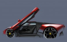 Ferrari Homage Concept on