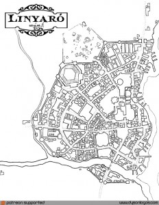 The Tsolyani Colony of Linyaró | Dyson's Dodecahedron