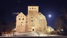 Free Images : landscape, snow, winter, night, building, chateau, evening, tower, church, port, turku, turku's castle 1920x1082 - - 1279969 - Free stock photos - PxHere