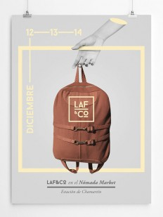 Laf&Co Logo design on Inspirationde