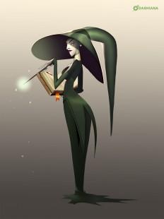 ArtStation - Little Miss Slytherin, Dashiana ???