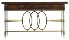 Stanley Furniture Co Inc Avalon Heights-Neo Deco Flip Top Console - Console Tables | Houzz