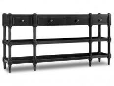 Hooker Furniture Living Room Ashton Console Table 5456-85001-BLK