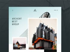 Free Architecture Website Template (PSD and Sketch) - Free Download   Freebiesjedi