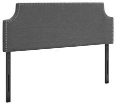 MODTEMPO LLC Modway MOD-5394-AZU Laura Queen Fabric Headboard, Azure - Headboards | Houzz