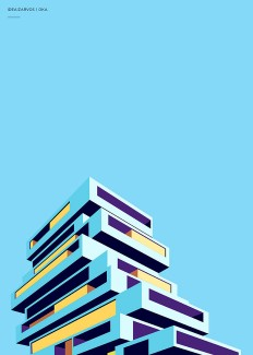 Architectural Illustrations by Henrique Folster