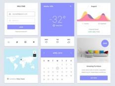 Epic Free UI Kit PSD - Free Download | Freebiesjedi