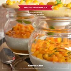 Mango and Yogurt Pannacotta - KitchenAid India