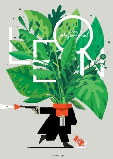 Leon: The Professional by Christopher Delorenzo in Illustration