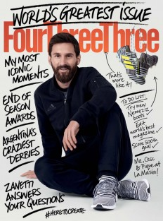 Including Tanna 'Lionel Messi for 442' on Inspirationde