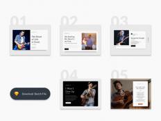 Blog Article Card UI - Free Download | Freebiesjedi