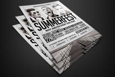 Indie Music Flyer Template - Free Download | Freebiesjedi