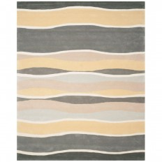 Safavieh Soho Grey/Gold 7 ft. 6 in. x 9 ft. 6 in. Area Rug-SOH337A-8 - The Home Depot